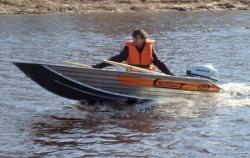 Алюминиевая бюджетная лодка Wellboat 33