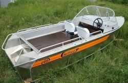 Моторная лодка Вельбот 45 М