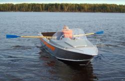 Лодка Вельбот 46