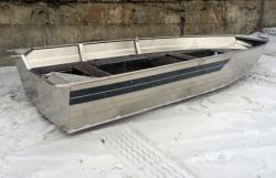 Алюминиевая лодка «Windboat 35»