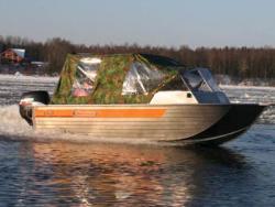 Моторная лодка Вельбот 43