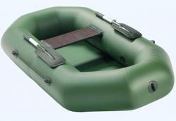 Легкая одноместная надувная ПВХ лодка «Аква Оптима 190»