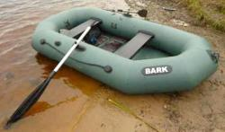 Надувная гребная лодка «Барк 260»