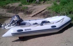 Надувная ПВХ лодка «BRIG Baltic 350»