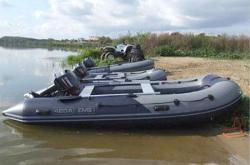Надувная лодка «ДМБ Альфа 420»