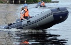 Надувная ПВХ лодка с НДНД «ДМБ Омега 360»