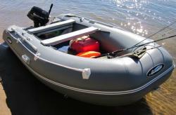 Надувная лодка «Gladiator E 380» с НДНД