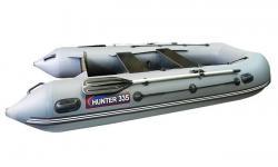 Трехместная надувная лодка «Хантер 335»