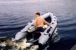 Надувная ПВХ лодка «Лидер 380»