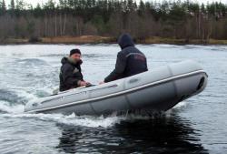 Надувная лодка «Сибирь 3500»