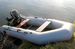 Надувная ПВХ лодка «Стрим 2900»