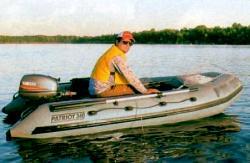 Надувная ПВХ лодка «Патриот 340»