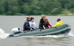 Надувная ПВХ лодка «Yukona 360 TS»