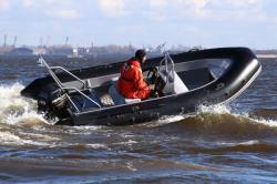 Лодка-RIB «TRIDENT Piton 450»